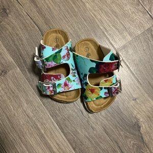 Toddler Ositos floral sandals
